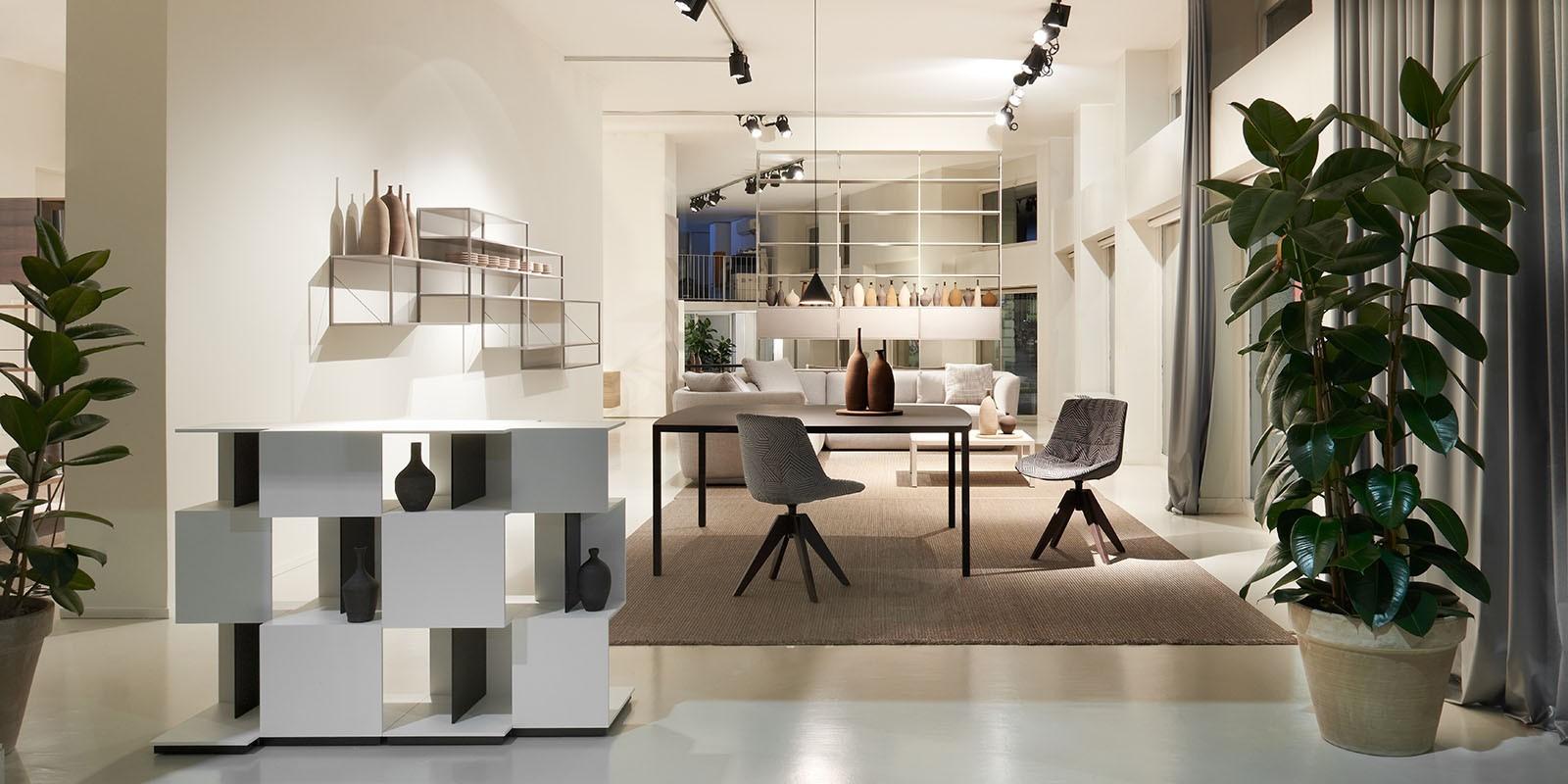 showroom a milano arredamento dal design unico mdf italia