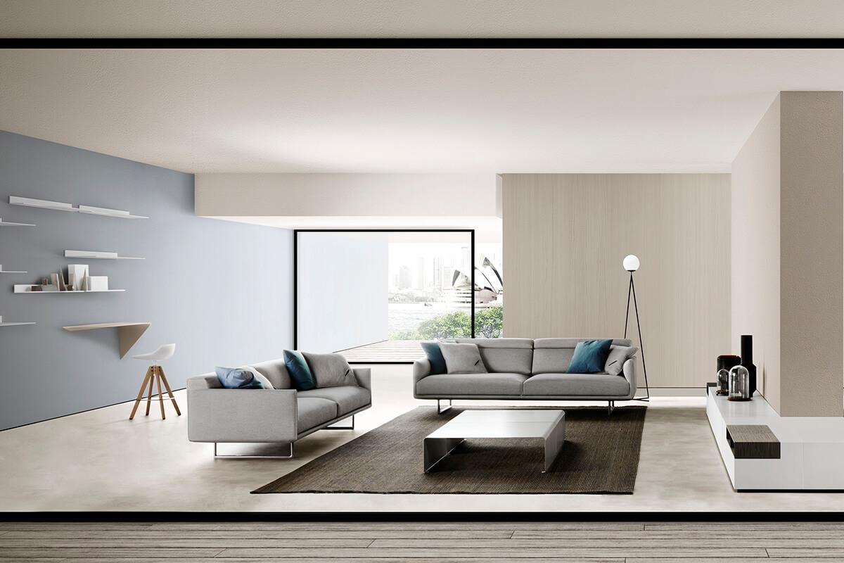 Hara Sofa Technology With A Careful And Minimal Design