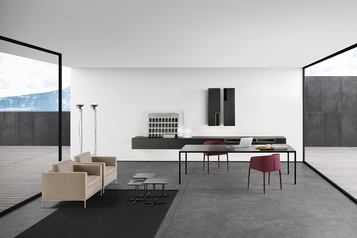 K table. coffee tables with an essential design. mdf italia.