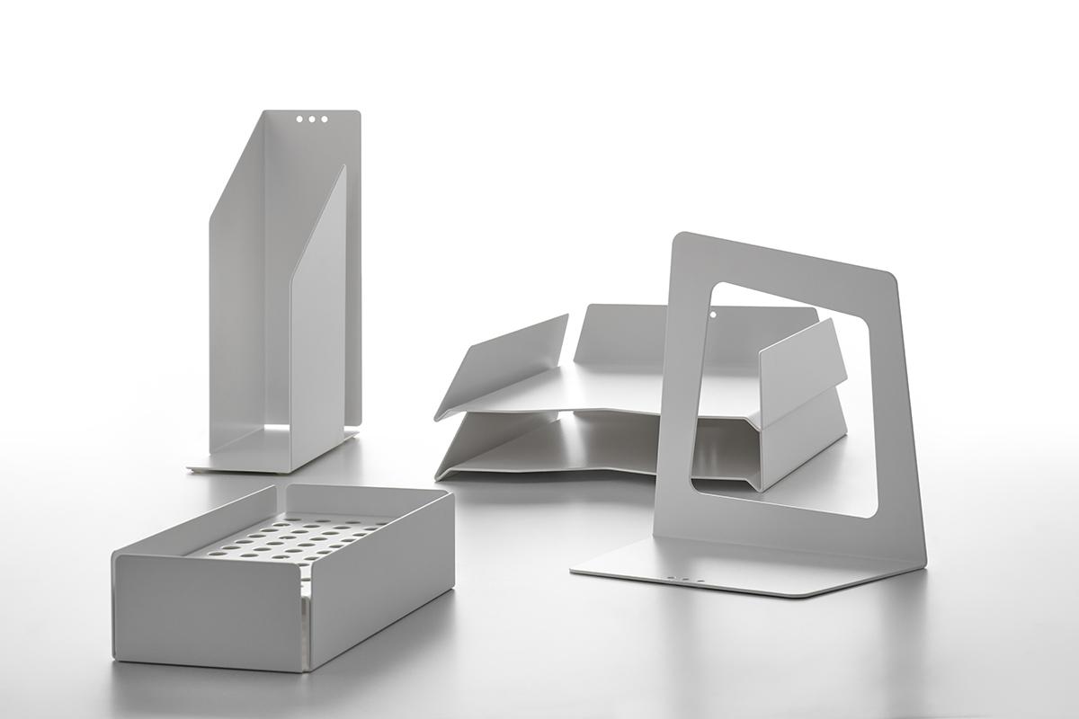 Single Or Double Work Desk 20 Venti By Mdf Italia