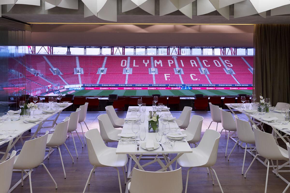 vamnous restaurant  olympiacos stadium
