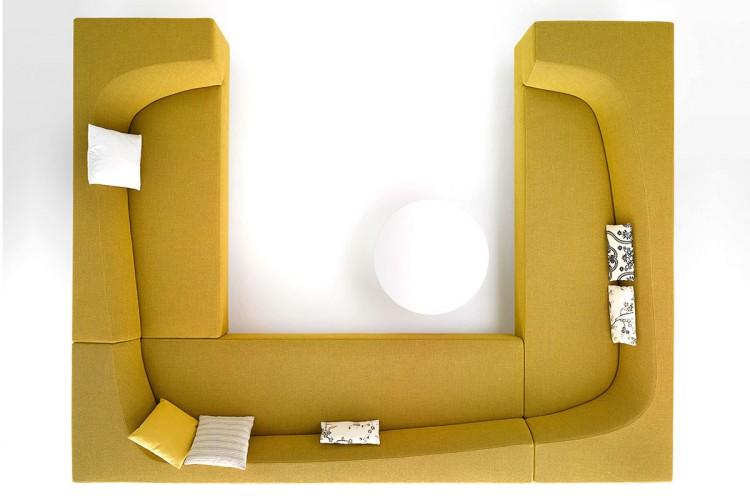 divani componibili bora bora dal design moderno mdf italia. Black Bedroom Furniture Sets. Home Design Ideas