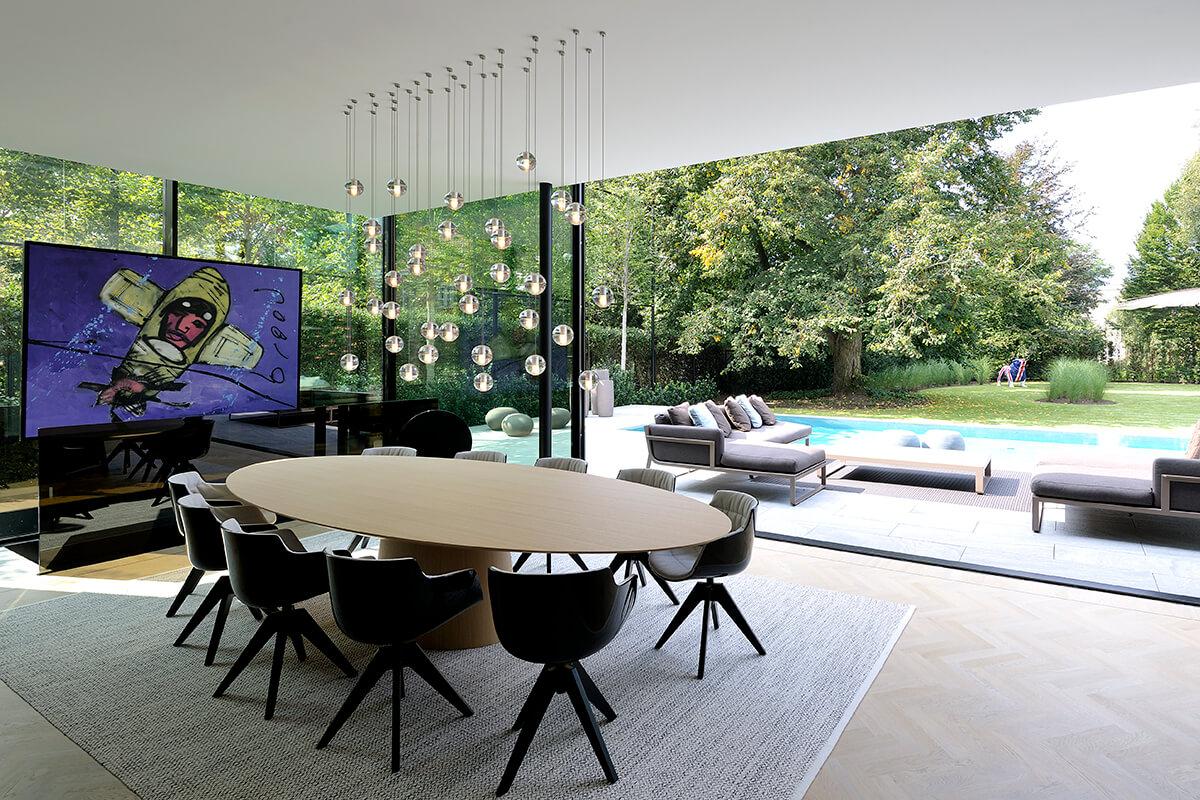interni villa moderna