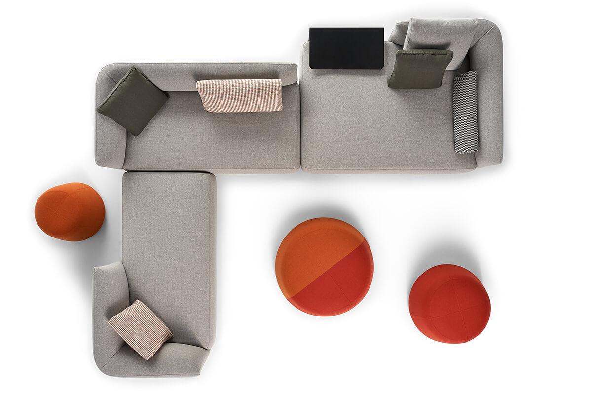 Cosy Modern Modular Sofas And Coffee Tables Mdf Italia