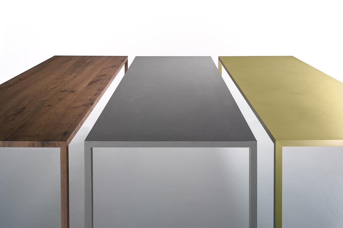 Tense Material Long Rectangular Shaped Table In Various