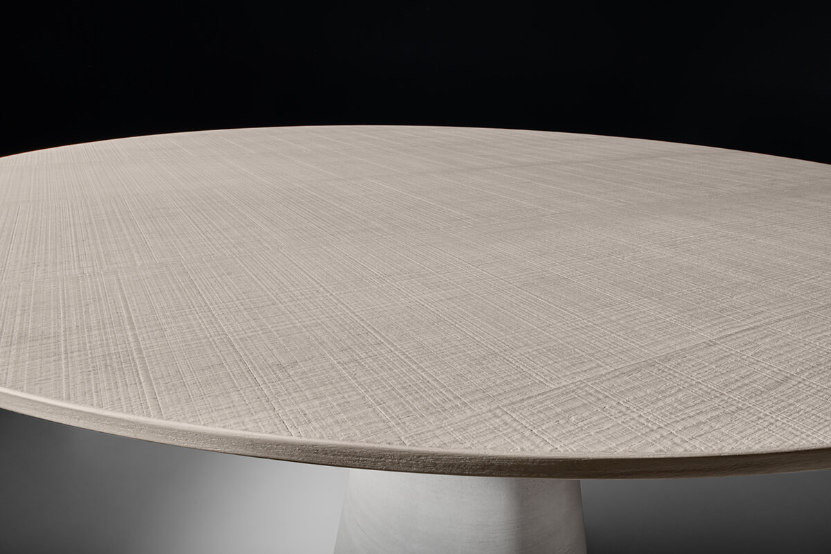 Rock Table Round Shaped Tables Also For Outdoor Mdf Italia