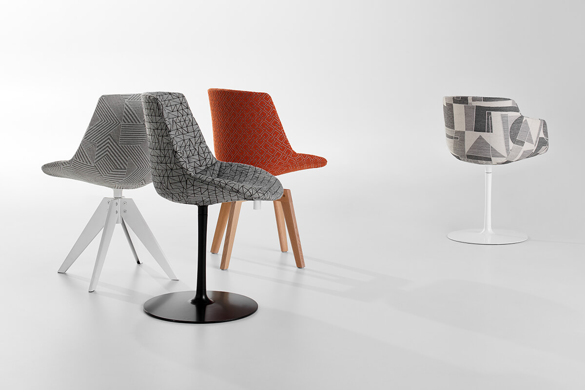 Flow Textile A Chair That Gives Comfort And Allows A Great Customization