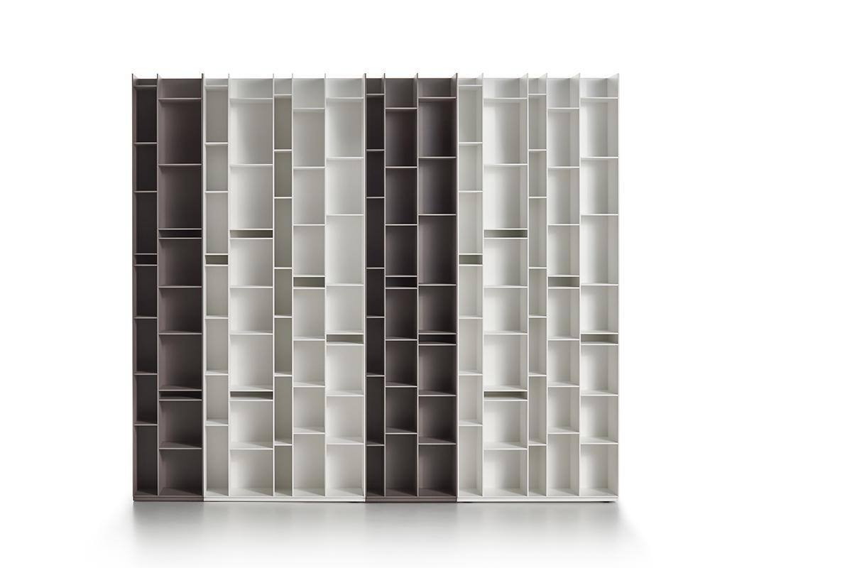 Random 2c 3c A Tall Narrow Bookshelf Lacquered Modern