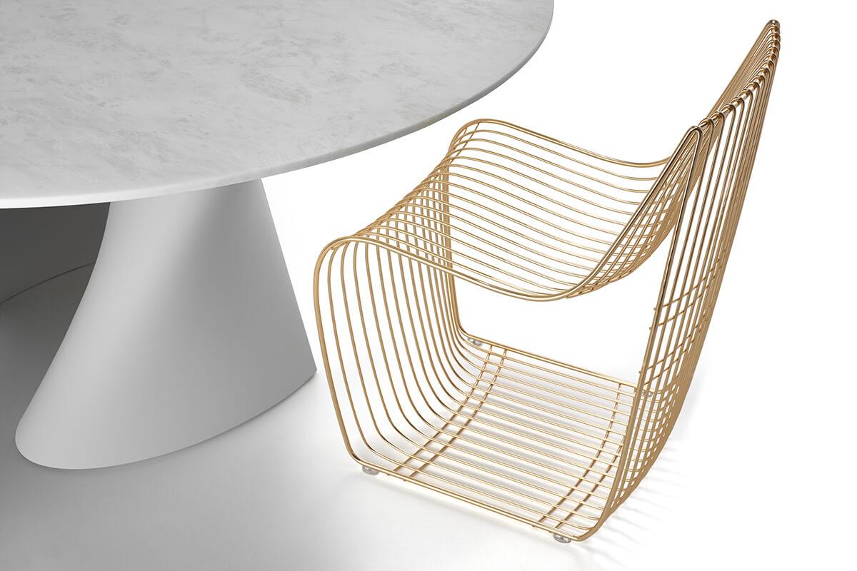 Sedia design particolare sedia moderna design sign filo for Sedie di design 2017