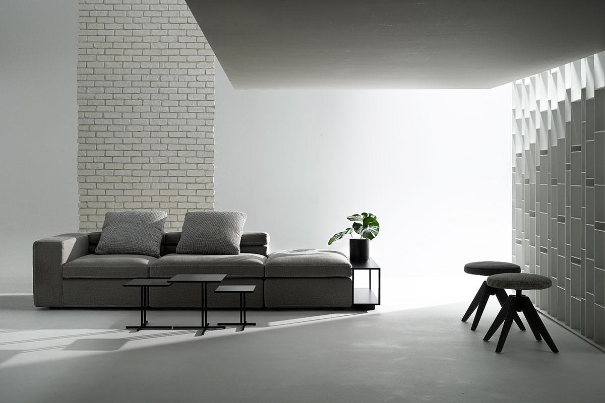 Grafo Low Table, contemporary living room table. MDF Italia.