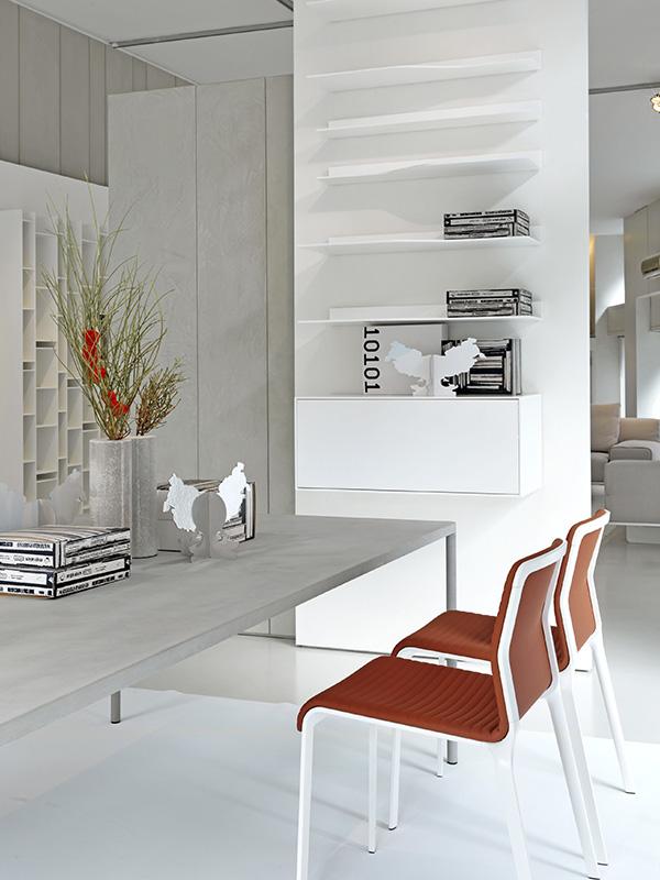 Easy Wave Shelves White Table Tops Mdf Italia