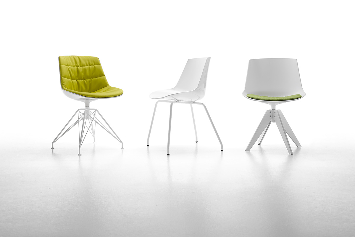 Sedie Ufficio Dwg : Flow chair. sedie dal design moderno per casa e ufficio. mdf italia.