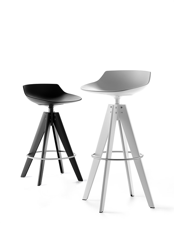Flow stool for Mdf italia spa