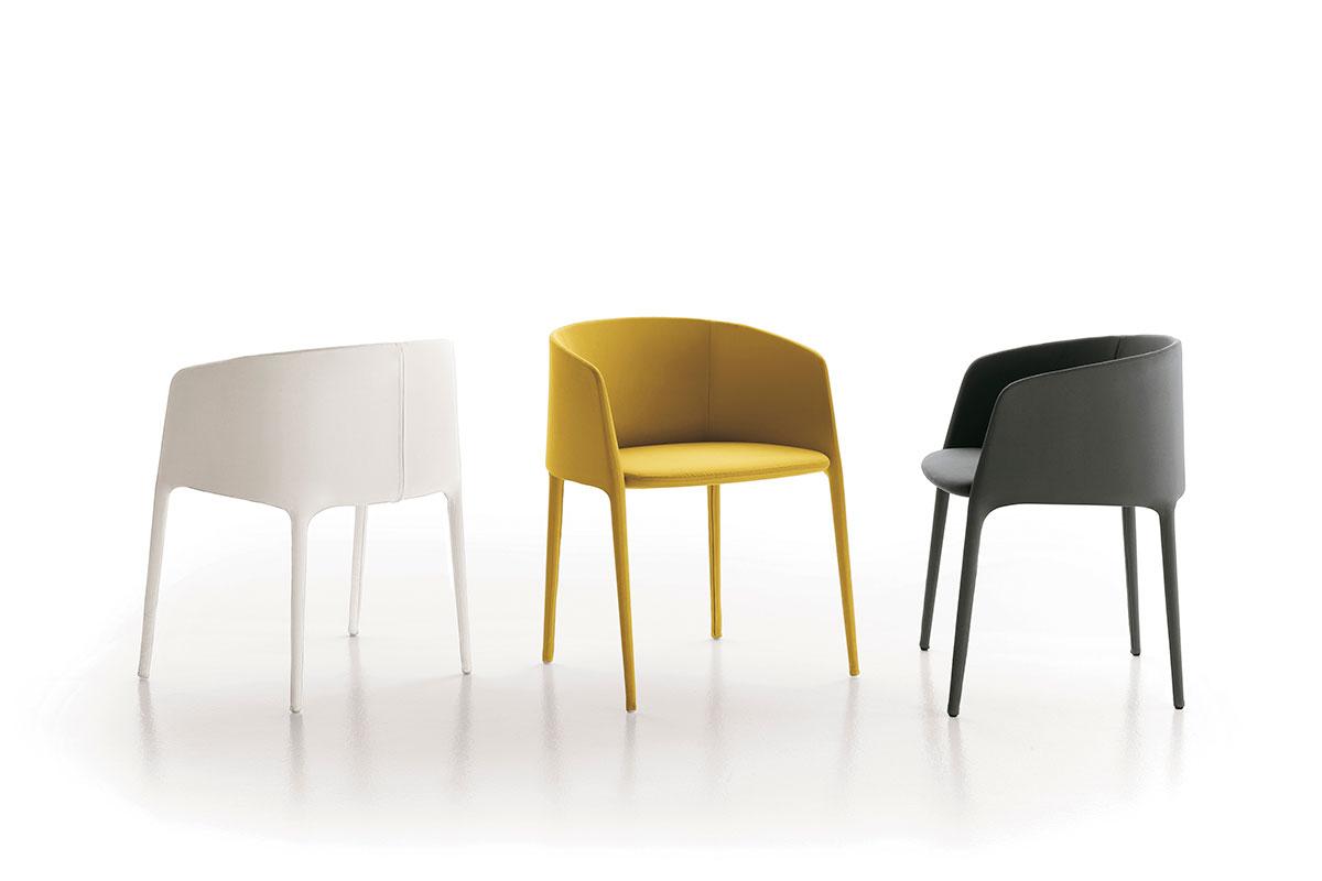 Achille Armchair Design Padded Armchair Mdf Italia
