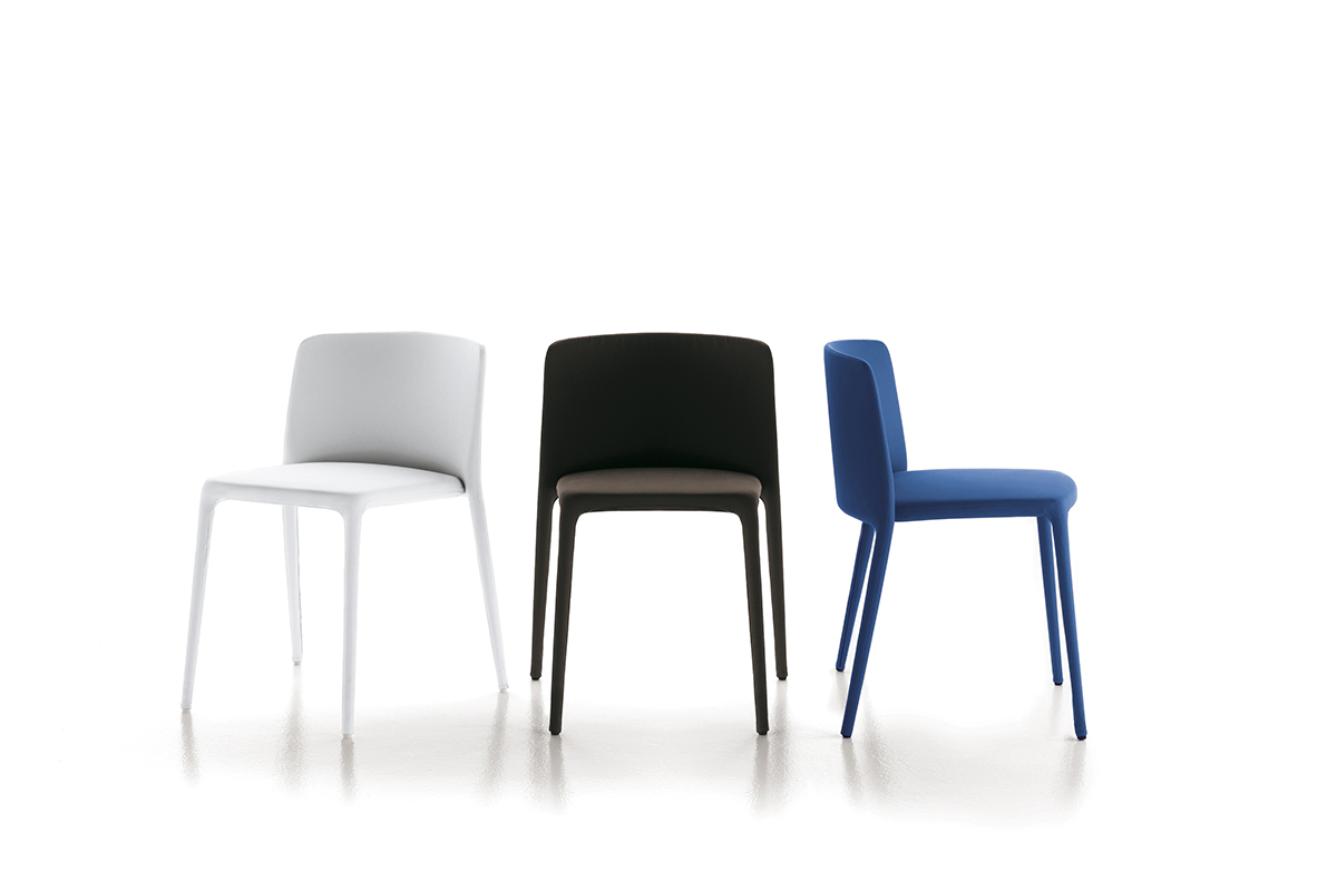Achille Chair Stackable And Padded Chairs Mdf Italia
