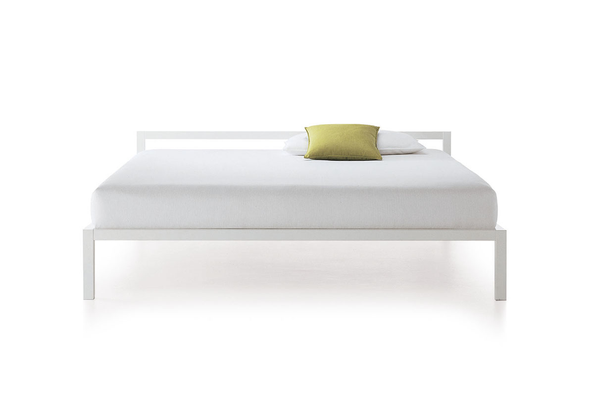 Aluminium Bed Bed Structure With A Rigorous Design Mdf