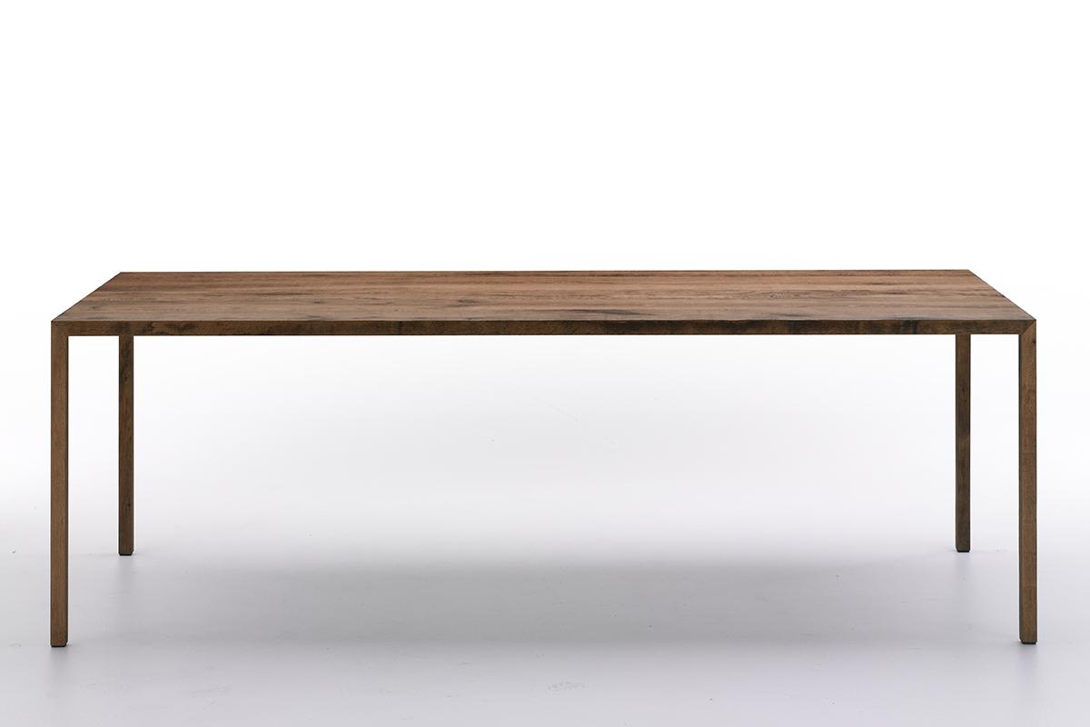 TENSE MATERIAL. Tavolo design rettangolare lungo in vari materiali ...