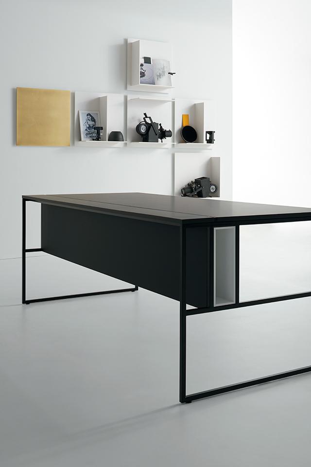 Fabulous sistema per ufficio with scrivania ufficio for Scrivania economica ufficio