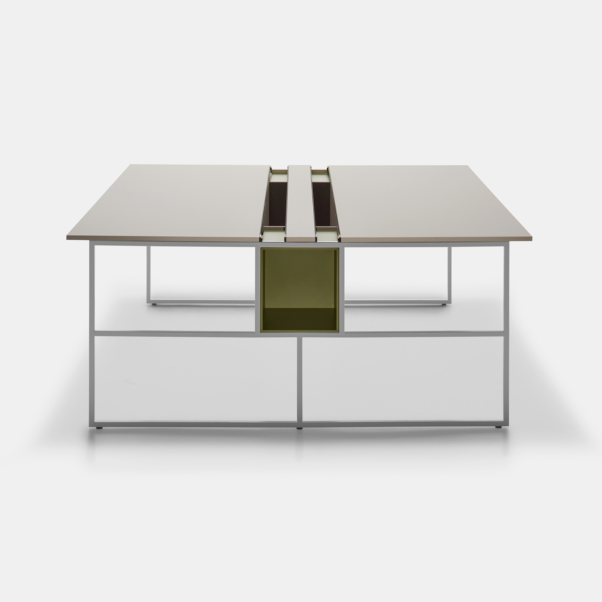 single or double work desk. 20.ventimdf italia.