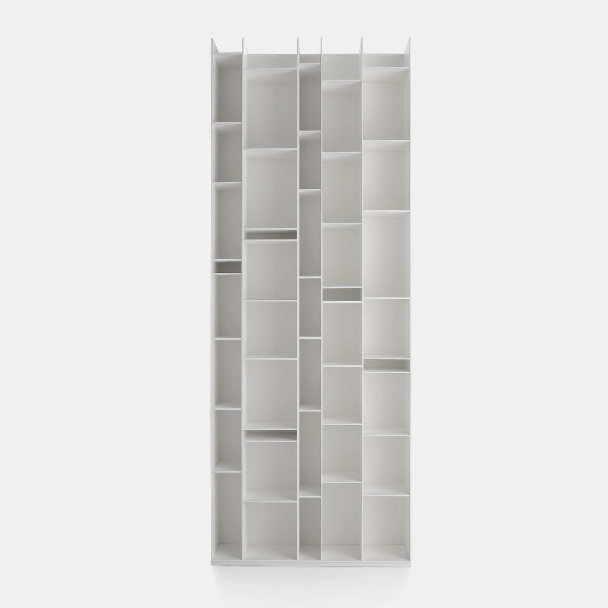 Random Modular Bookcase With A Unique Design Mdf Italia