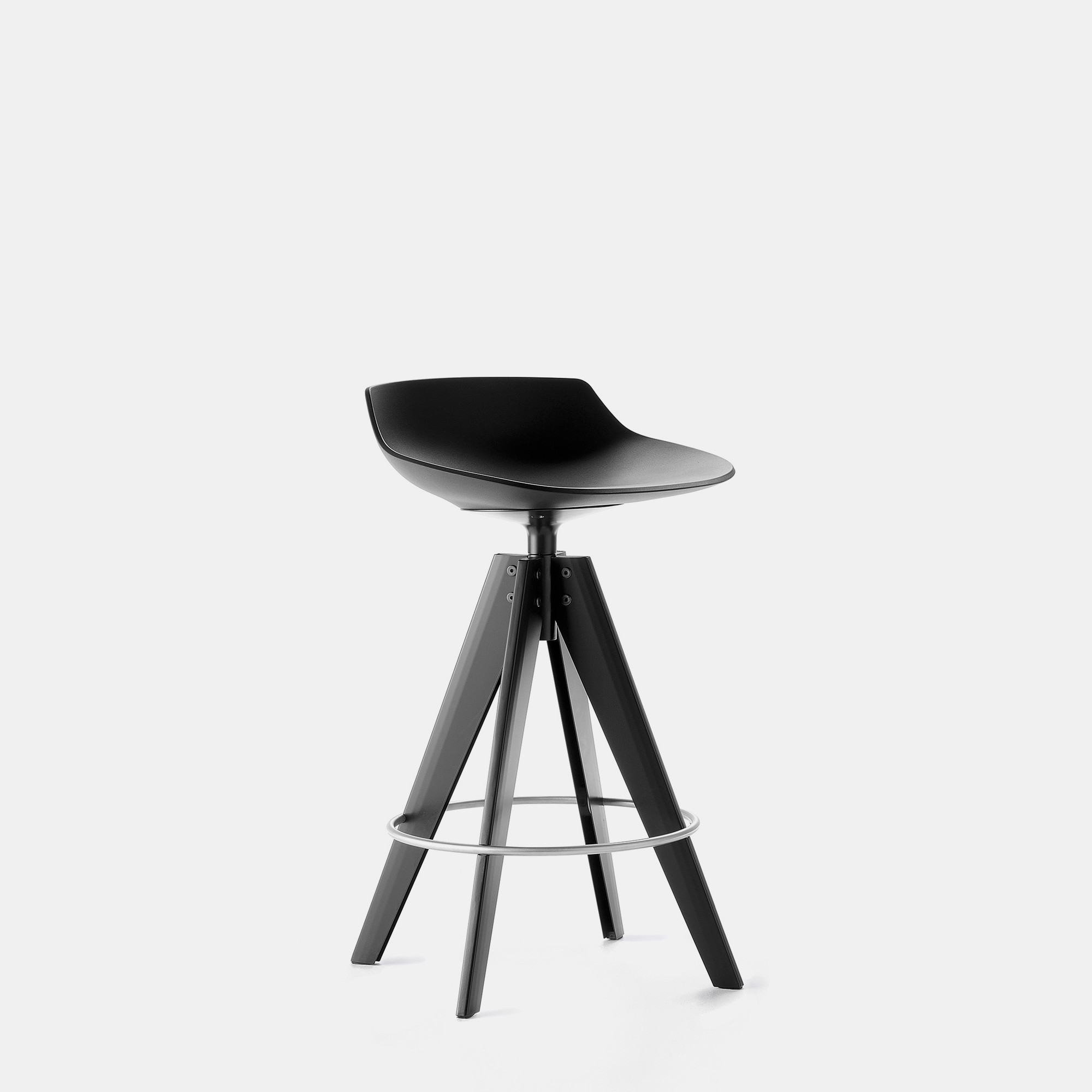Fantastic Flow Stool High And Low Stools With A Modern Design Mdf Squirreltailoven Fun Painted Chair Ideas Images Squirreltailovenorg