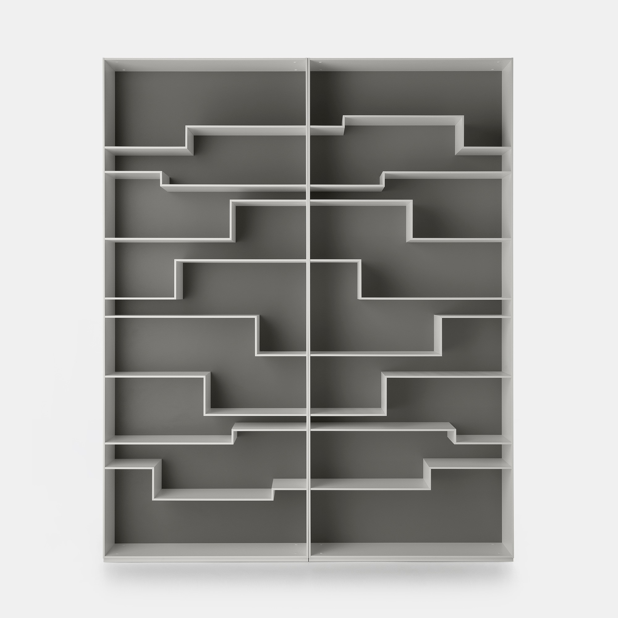 Melody bookcase. Smart spaces and exclusive design. MDF Italia.