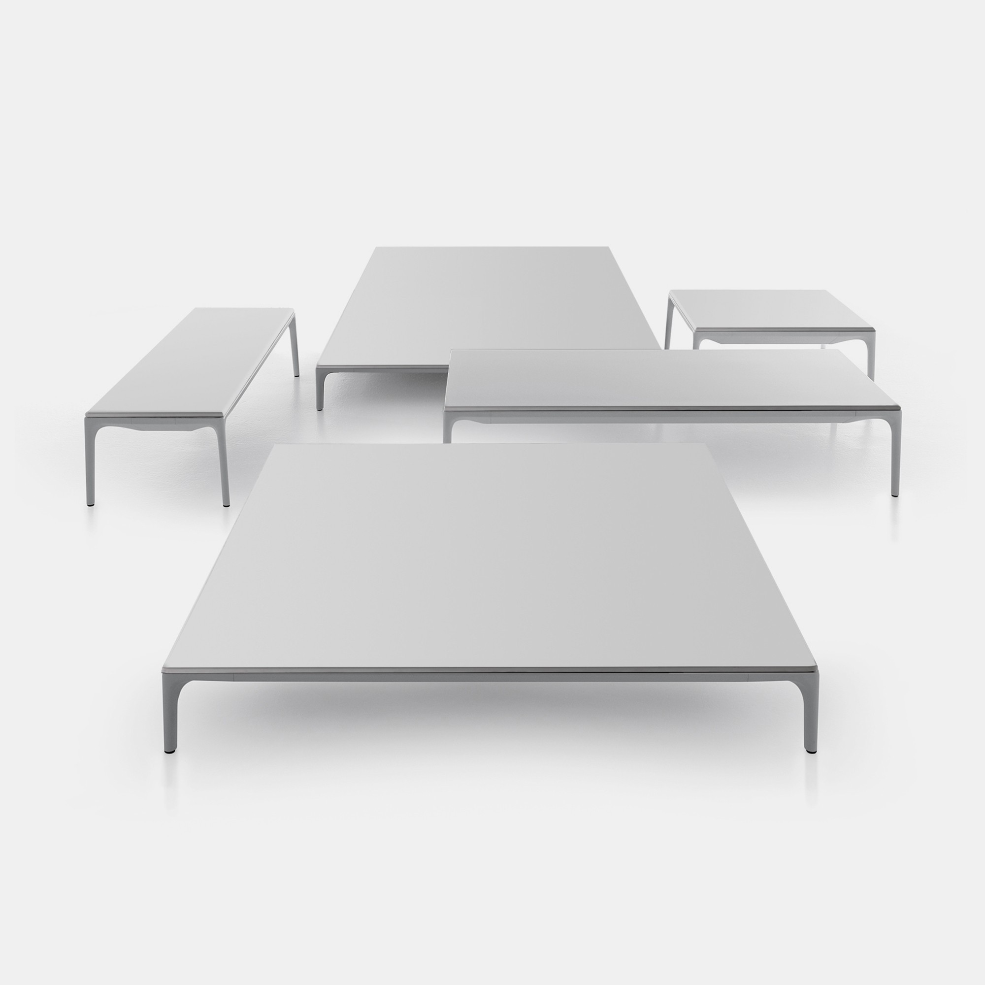 Yale low table for Mdf italia spa
