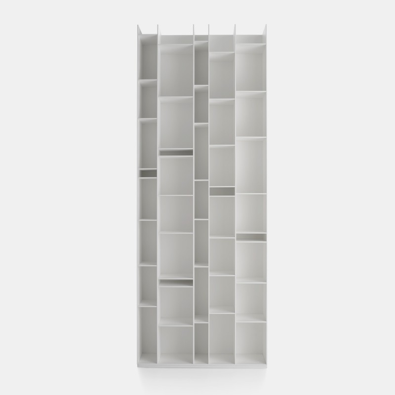 random modular bookcase with a unique design mdf italia. Black Bedroom Furniture Sets. Home Design Ideas