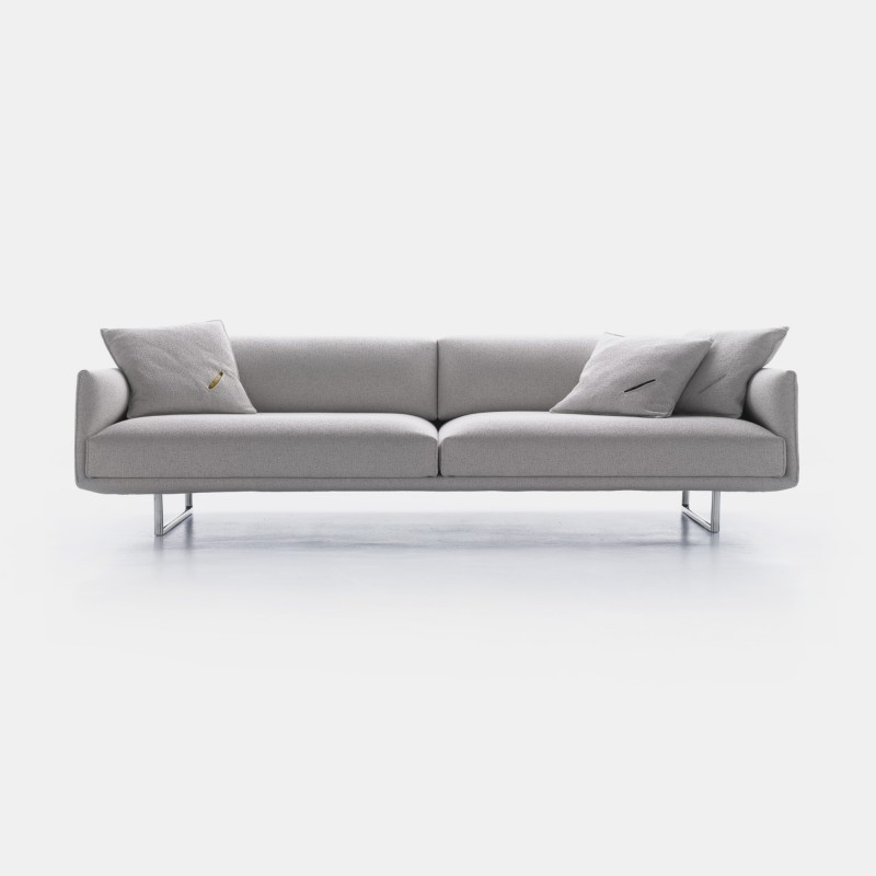 hara sofa technology with a careful and minimal design mdf italia. Black Bedroom Furniture Sets. Home Design Ideas