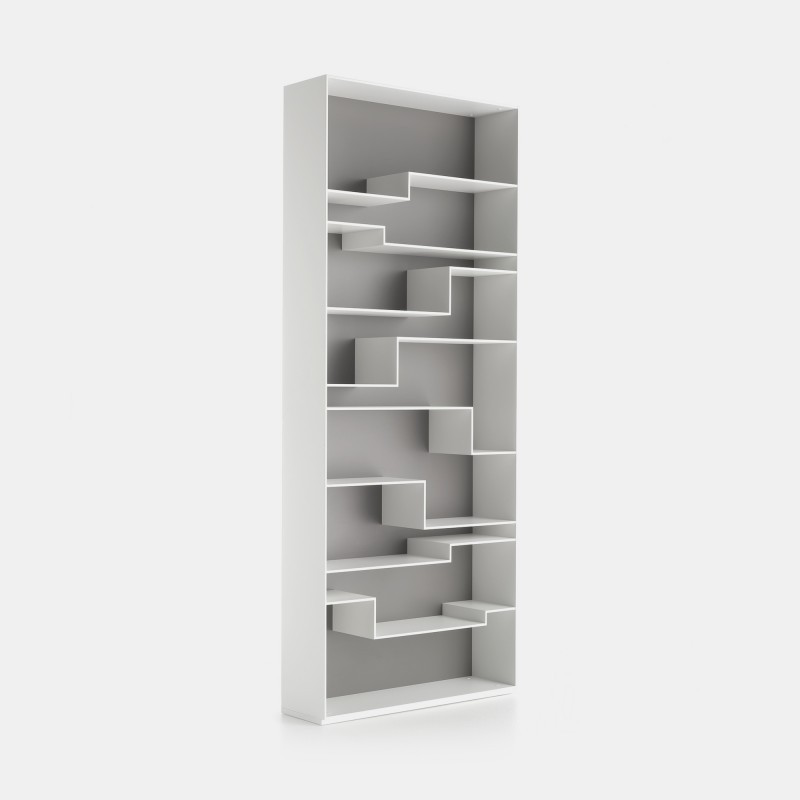 Melody bookcase smart spaces and exclusive design mdf - Exclusive decoration of book shelf ...