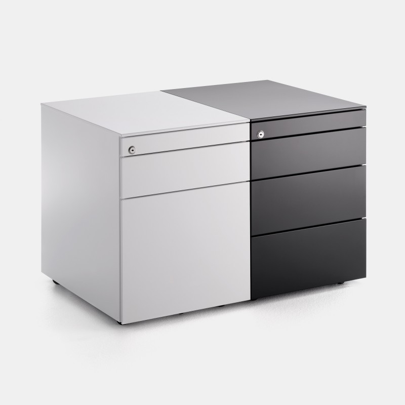 Office Cabinets 3 Drawer Chest Of Drawers Mdf Italia