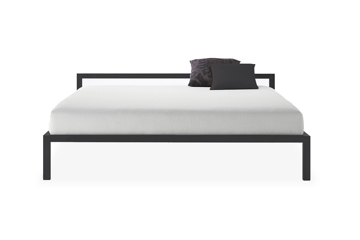 aluminium bed bed structure with a rigorous design mdf. Black Bedroom Furniture Sets. Home Design Ideas