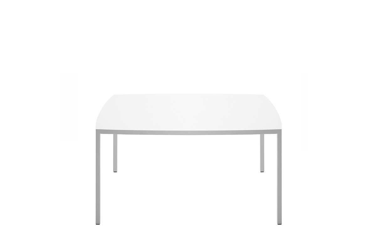 tense curve oval table mdf italia
