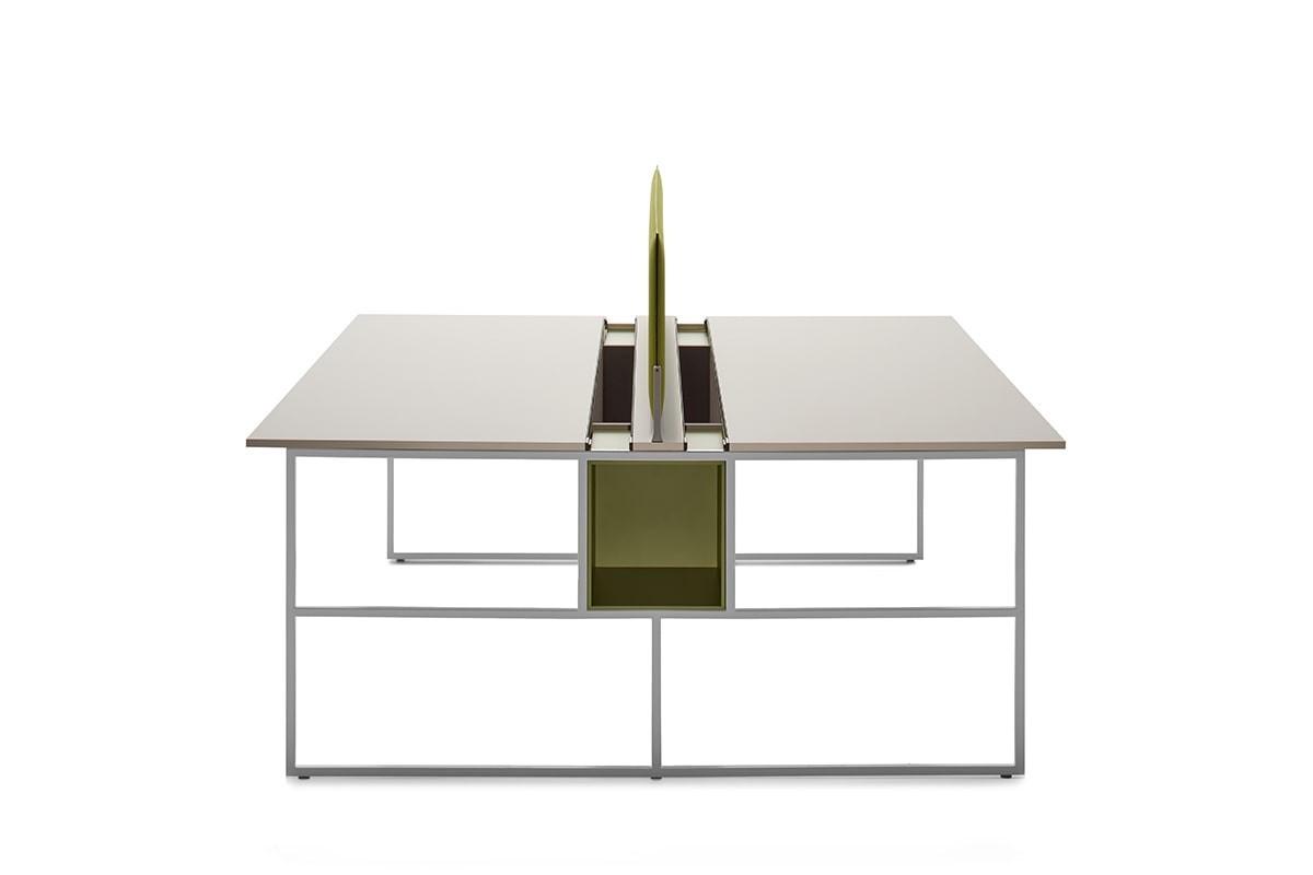 Misure Standard Scrivania Ufficio.Mobili Ufficio Tavoli Design Scrivanie Mdf Italia