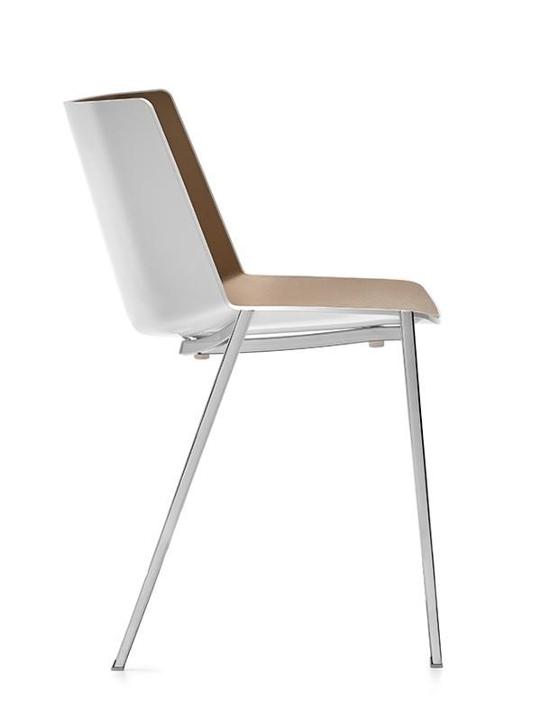Aiku sedia per ufficio casa e spazi contract mdf italia for Sedie di design 2017